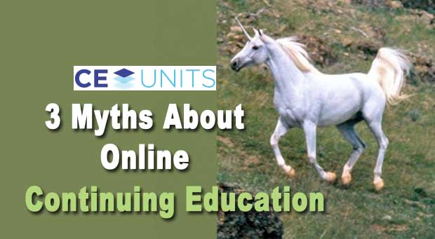 myths about continuing education units