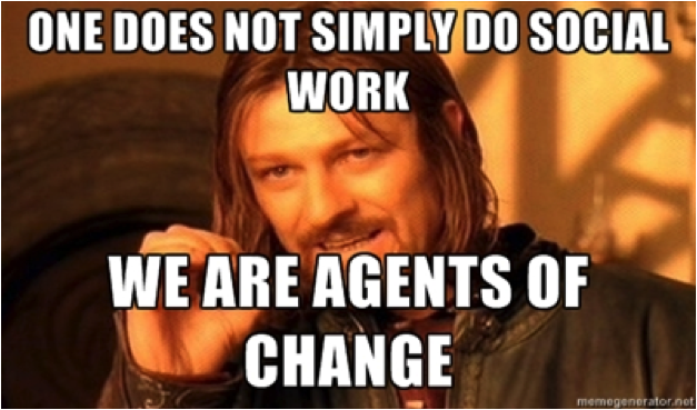 agents change social worker
