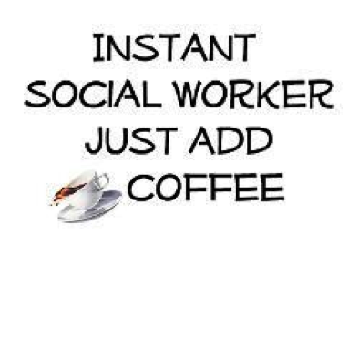 add coffee social worker
